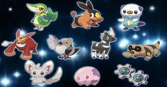 Pokemon Black And White Starters Pokemon Black And White Pokedex Bulbapedia